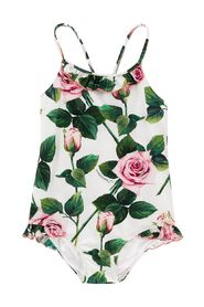 Rose Print Swimsuit
