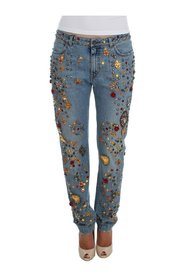 Crystal Embellished Jeans