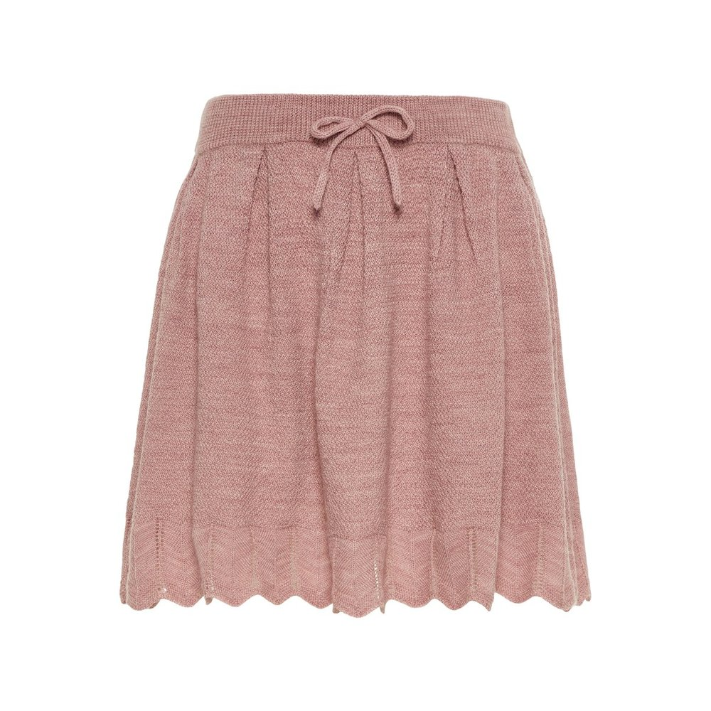 Skirt wool knitted
