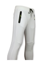Sportbroek Mannen Lang  - Slim fit Joggingbroek Heren - F561