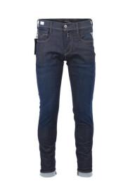Blå Replay Anbass Hyper Flex Bukser