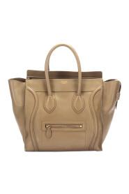 Gebrauchte Gepäcktasche aus Leder