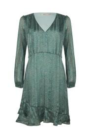 SP21.14000 Dress wheat print