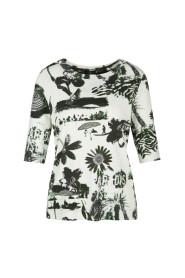 QS 4828 J53 - Shirt met Bahama-print
