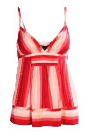 Stripe Silk Top Condition Very Good US2