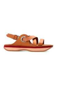 sandals with logo