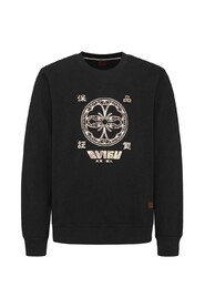 Print Applique Sweatshirt
