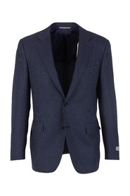 Contemporary Wool Blazer
