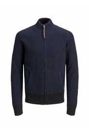Knitted Cardigan Roll neck