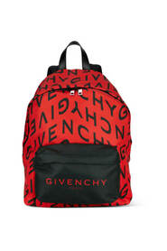 Urban backpack with logo