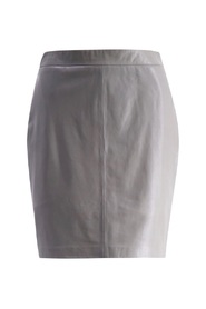 Savanna Leather Skirt