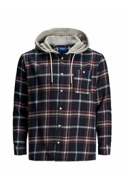 Plus size Shirt Hooded