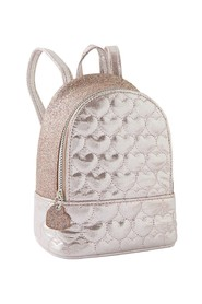 Mini Heart Quilted Backpack