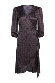 Art Deco Print Dress