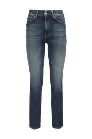 VIOLA - Five-pocket regular fit jeans