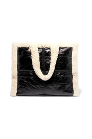 Lolita shearling paper bag