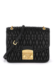 Metropolis Cometa S quilted shoulder bag.