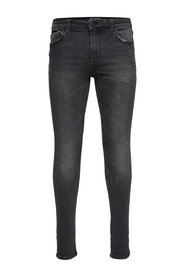 Skinny fit jeans Warp black washed