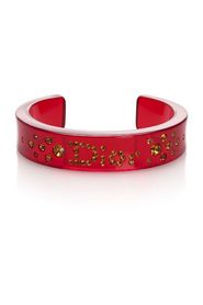 Rhinestone Bangle Plastic