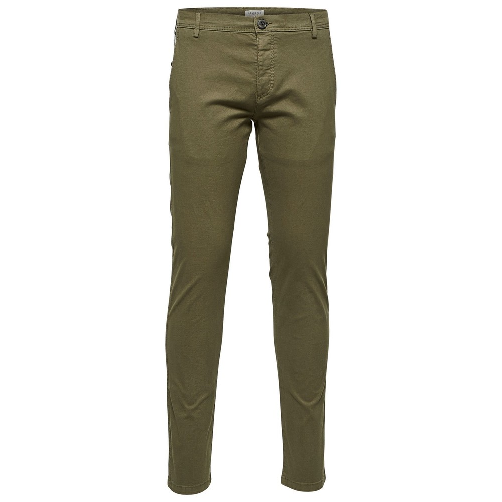 Selected Luca Olive Night Pants