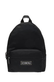 Logo-patched backpack