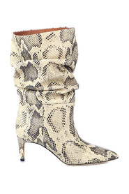 EMBOSSED SLOUCHY BOOTS