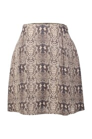 Snake Skin Printed Skirt -Pre Owned Condition Excellent