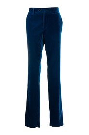 Flat front formal trousers