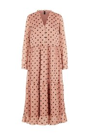 Midi dress Loose-fit Polka-dot