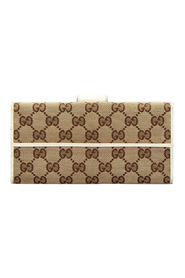 Pre-owned GG Canvas Long Wallet