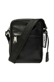 Logo-patched shoulder bag