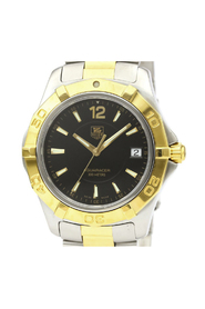 Aquaracer Quartz Gold Plated,Stainless Steel Sports Watch WAF1123