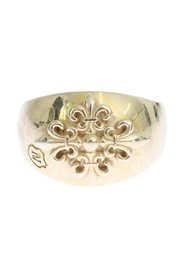 Silver Crest 925 Sterling Ring