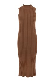 OBJAMIRA S/L KNIT DRESS