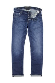 J688 Limited Edition Green Stitch jeans