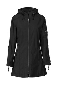RAIN07 - Black 3/4 Raincoat