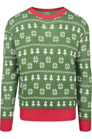Green Trees Christmas Crewneck