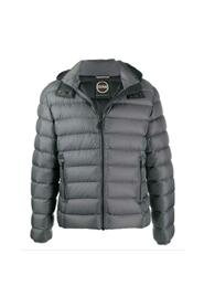 Sporty Down Jacket With Detachable Hood