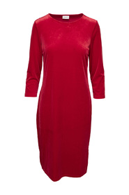 VIMINNY VELVET NEW 3/4 SLEEVE DRESS