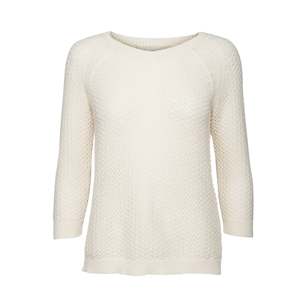 Soaked in Luxury Ginny Pullover off white