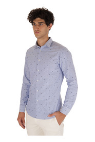 LUCKY EMBROIDERED OXFORD SHIRT
