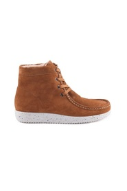 Nature Boot Asta Suede Toffee with lame for