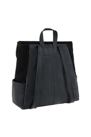 Black Leather Isabel Zip F Acc Bags Bags Day