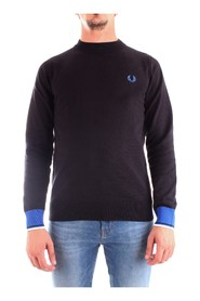 FRED PERRY K7510 JERSEY Men BLACK