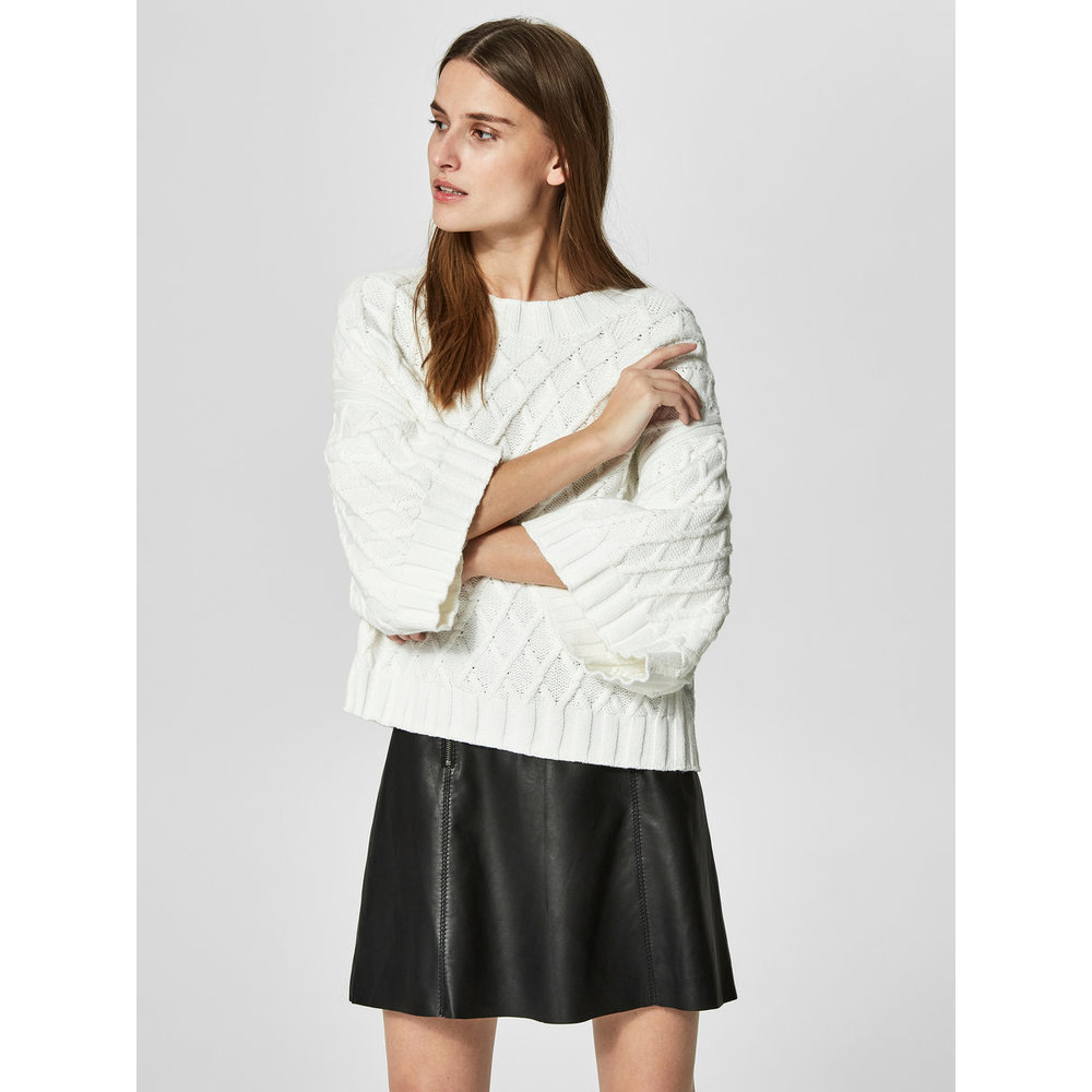 Knitted Pullover Boxy