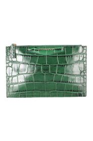 Crocodile Embossed Pouch