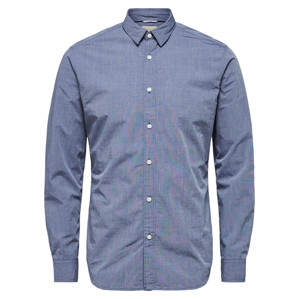 Slim fit shirt Kontrolleret -
