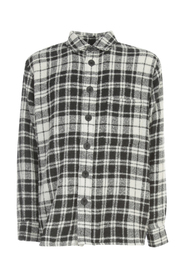 WORKER GRANT FLEECY CHECKED SHIRT