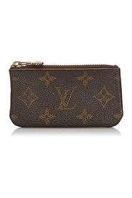 Monogram Canvas Key Pouch