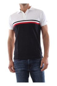 Tommy Hilfiger MW0MW13093 ColorBlock POLO POLO Mænd Multicolor
